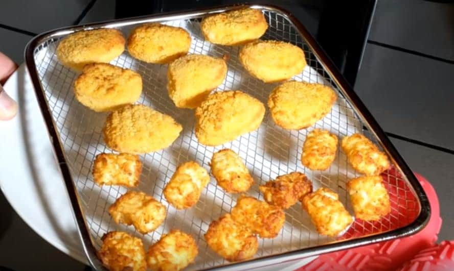 Chicken Nuggets taken out of air fryer