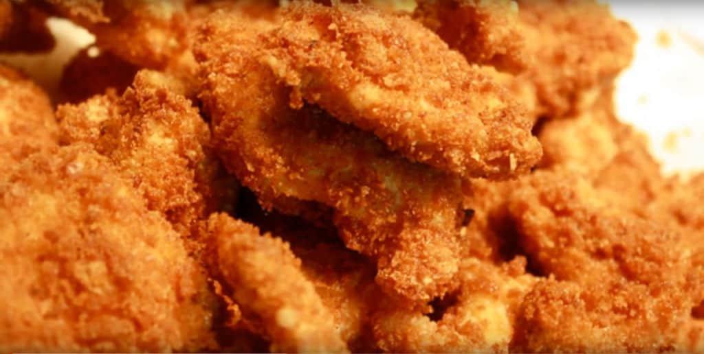Frozen Chicken Nuggets from Air Fryer