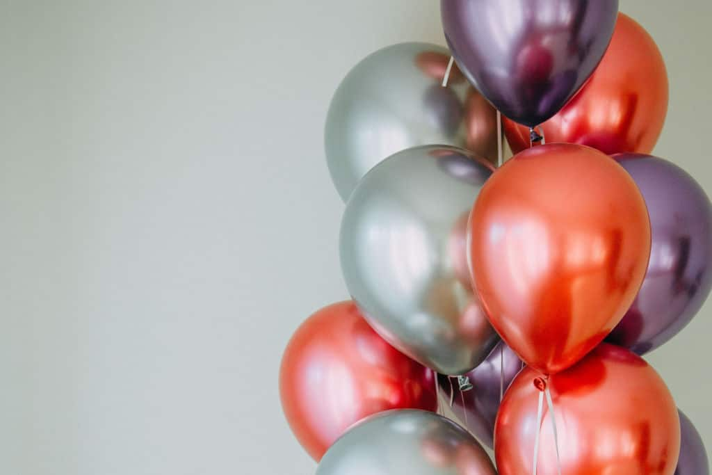 helium latex balloons
