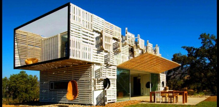 shipping container home architecture example