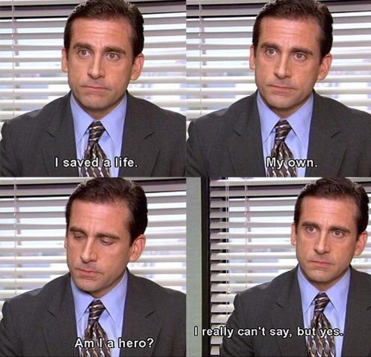 Am I a Hero office