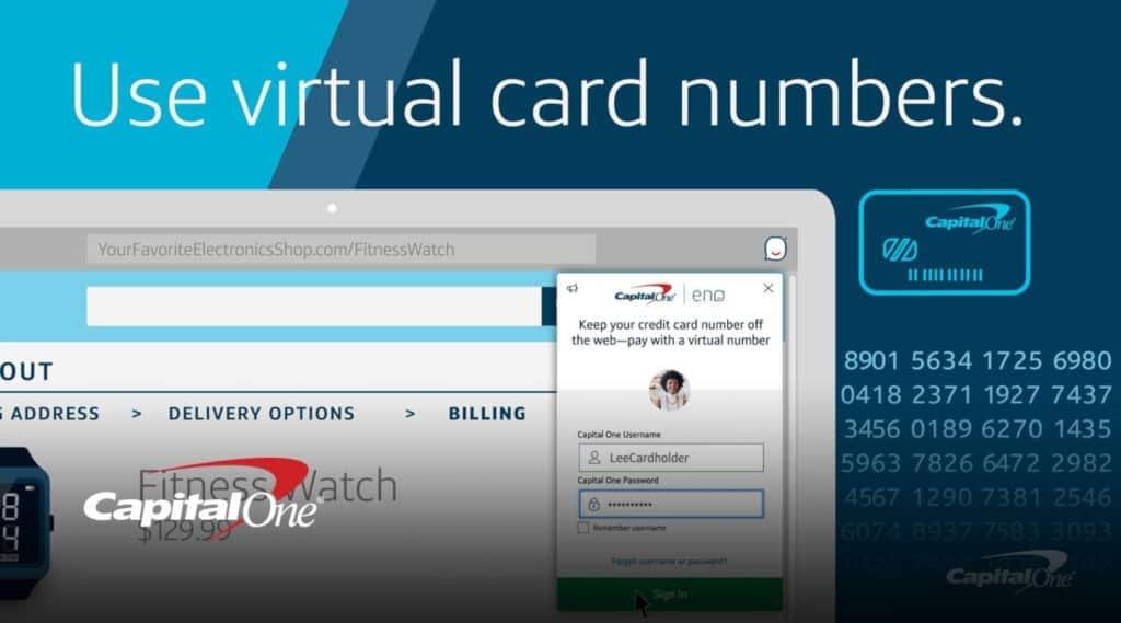 CapitalOne Virtual Card