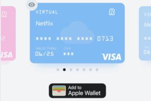 Revolut Virtual debit card
