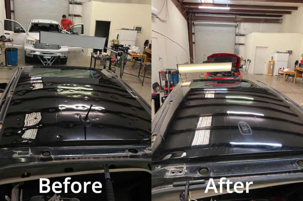 Paintless dent repair_Before and after2