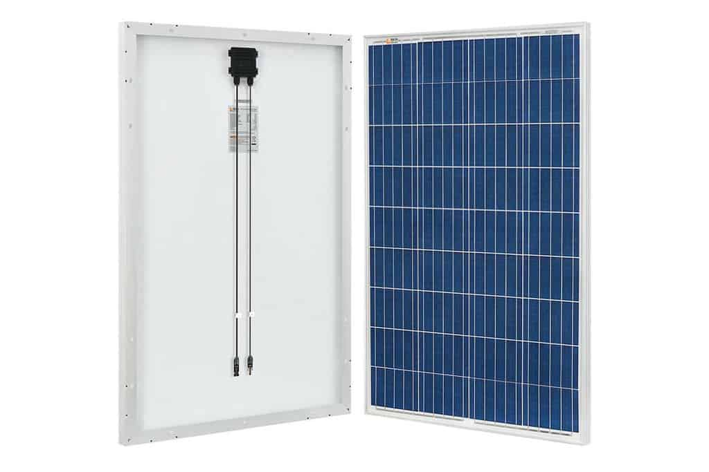 RICH SOLAR 100Wx2 12V Polycrystalline Solar Panels for boats