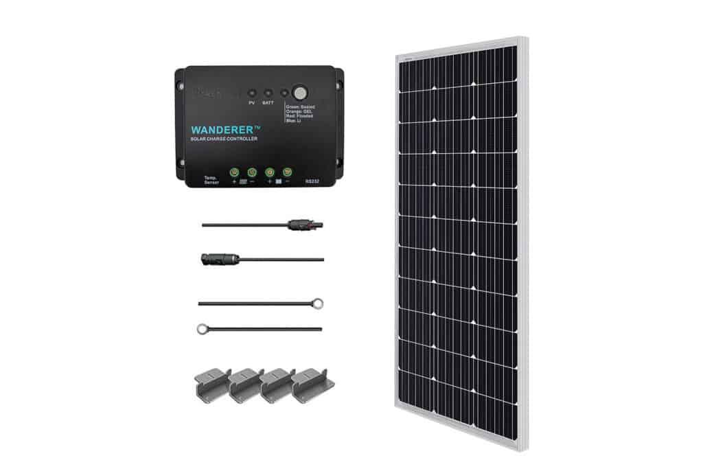 Renogy 100W 12V Solar Starter Kit for Boats