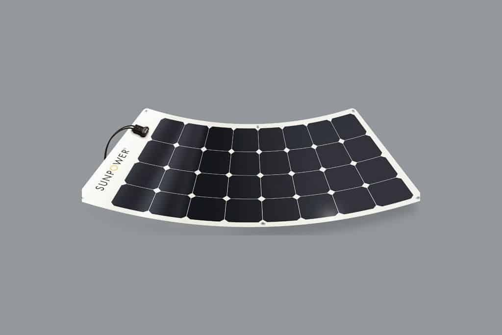 SunPower 110W Flexible Solar Panel for Boats
